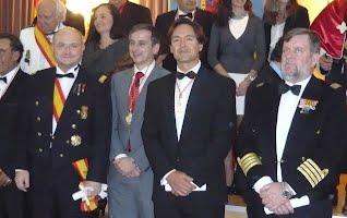 Ingreso de Don Carlos María Pérez- Roldán y Suanzes- Carpegna en la Academia Internacional de Ciencias, Tecnología, Educación y Humanidades.