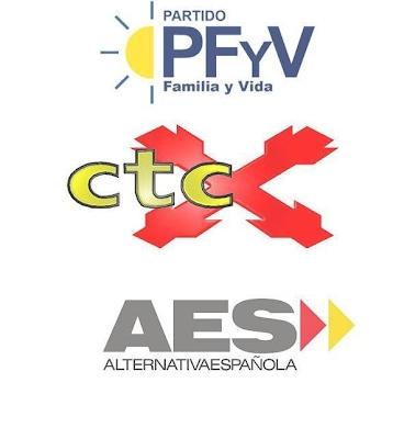 Manifiesto conjunto PFyV, CTC y AES, presentación a las Elecciones Europeas
