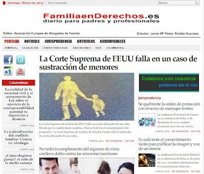 www.familiaenderechos.es